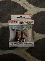 Funko Pop Pez Star Wars The Mandalorian Child Limited Edition Dispenser Set