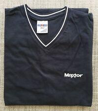 T-Shirt Jerzees col en V taille L