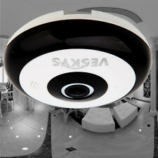 360 Degree HD 1.3MP IR Panoramic Fish Eye IP Security WiFi Camera Two-way Audio