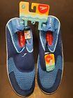 Speedo Surf Strider Water Shoes Mens Swim Shoes Blue Medium 7-8 Men's NEW W/TAGS