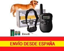 Collar  adiestramiento para perros sonido vibración descarga Con Pilas