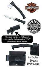 Harley Davidson  Camp  Axe /  Knife  Combo. HD0041  New !