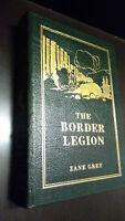 .THE BORDER LEGION by Zane Grey - Easton Press Leather RARE LIMITED EDITION