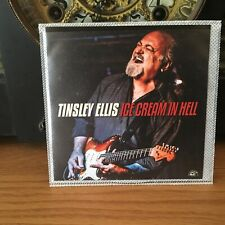 Tinsley Ellis Ice Cream In Hell Alligator Records Blues Cd only 2020 Promo
