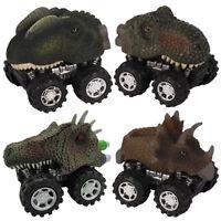 Dinosaur Car Pull Back Vehicle Mini Animal Car Child Toy Birthday Gift Creative