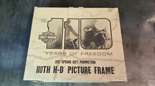 HARLEY DAVIDSON 110th ANNIVERSARY LIGHTED PICTURE FRAME, 2013 PROMOTIONAL ITEM!!