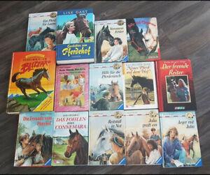 pferdegeschichten bücher,sammlung,14 stück,set,mädchen,lesen,pferde,lesen,reiten