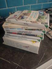 Nintendo Wii 8 Games bundle