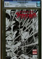 AVENGING SPIDER-MAN 1 CGC 9.8 SKETCH COVER QUESADA ART COVER 2012 POLY BAG 1:200