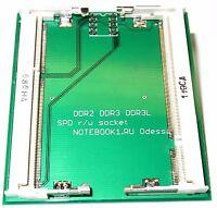 laptop DDR2 DDR3 DDR3L SPD eeprom adapter for programmer
