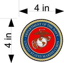 US MARINES - DEPT. OF THE NAVY car & truck vehicle decals/stickers