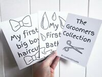 The Groomer's Collection - Dog Grooming / Pet Grooming / Milestone Cards