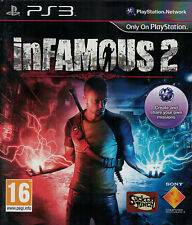 inFamous 2, Sony PlayStation 3 game, PS3, 2011, Used