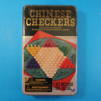 Spin Master Chinese Checkers 12x12 Game Board in Tin ~ New, Sealed