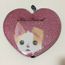 """""""Bag Only""""--Too Faced x Kat Von D Better Together Cosmetic Makeup Heart Shaped"""