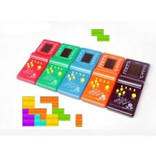 Classic Tetris Kids Toys Hand Held LCD Electronic Game Toy Fun Brick Game Riddle