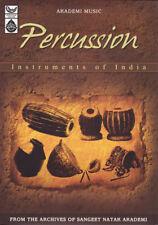 Percussion Instruments Of India  by Sangeet Natak Akademi Music Audio CD