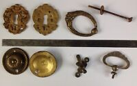 Antique Handles Cast Brass Escutcheons Embellishments Brass Restoration Items