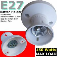 E27 Batten lamp holder ES Bulbs Edison Screw Halogen Lighting accessories DIY tm