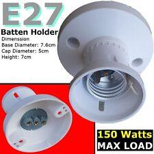 E27 Batten lamp holder ES Bulbs Edison Screw Halogen Lighting accessories DIY tm