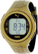 Puma Men's PU910541007 Pulse Metallic Gold Digital Wrist Watch