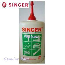 SINGER SEWING MACHINE OIL SUPER FINE QUALITY 125ml Genuine singer Bottle