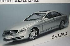 Mercedes CL-Klasse silber 1:18 Autoart neu & OVP 76164