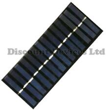 Piccolo pannello solare 7 V 200 mA 85x185mm prototipazione elettronica/caricabatteria.