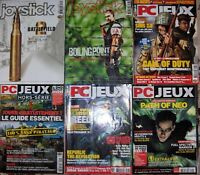 Lot de 6 MAGAZINES TTBE/NEUF : PC JEUX et JOYSTICK