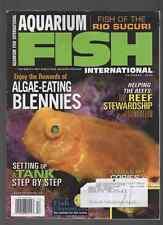 Aquarium Fish International Magazine December 2008, Fish of the Rio Sucuri