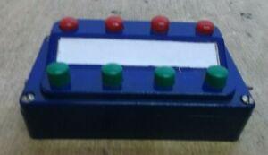 Märklin 7072 H0 Switch Point Control Desk For Solenoid Points Signals Uncouple