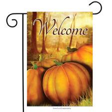 "Fall Pumpkin Patch Garden Flag Welcome Autumn 12.5"" x 18"" Briarwood Lane"