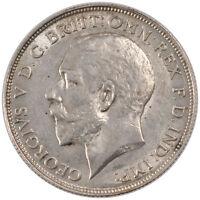 [#250779] GREAT BRITAIN, Florin, Two Shillings, 1912, KM #817, AU(55-58)