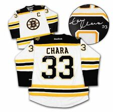 Zdeno Chara Boston Bruins NHL Autographed Jersey - White Reebok w/COA  XL
