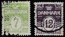 Denemarken gestempeld 1926 used 166-167 - Golven