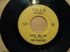 """The Beatles- Love Me Do Very Rare Usa 7"""" pressing Tollie Records  Good cond"""