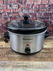 Elite Gourmet MST-275XS 2QT Stainless Steel Electric Slow Cooker - Silver/Black photo