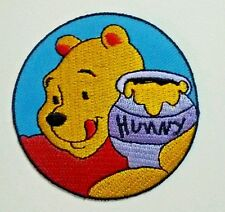 "Winnie the Pooh ""POOH"" honey Disney Cartoon Kid Embroidered Patch Sew Iron On"