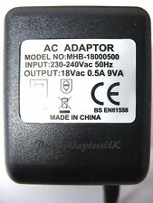 ALTO PRO ZMX52 MIXER 18V AC POWER ADAPTOR/SUPPLY/TRANSFORMER (KC AC-1800500)