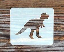 Plantilla de Pintura de Cara de dinosaurio 7cm X 6cm, Lavable a reutilizable de Mylar de 190 Micrones
