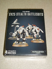 Warhammer 40K TAU EMPIRE XV25 STEALTH BATTLESUITS Box Set! New+Sealed!