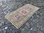 Turkish rug, Vintage rug, Handmade rug, Area rug, Wool, Carpet   3,1 x 6,1 ft