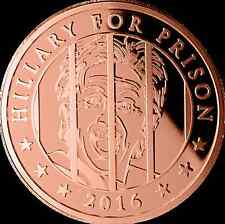 """""""2016 PRESIDENT TRUMP SATIRICAL COPPER COIN 1oz COLLECTIBLE LARGE AND HEAVY"""