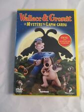 Wallace and Gromit The Curse of the Were-Rabbit Dvd French Edition Lapin Garou