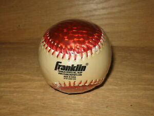 Franklin Sports Baseball MLB Soft Strike Chrome Metallic Orange Tee Ball NEW