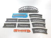 CG945-2# 9x Märklin H0 Teile für Brücke: 7263+7569+7269 etc, Bastler/defekt
