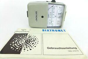 GOSSEN SIXTRONET Light meter