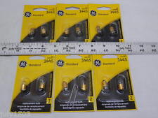 (12) New GE 1445 Miniature Lamp Bulb 3w Single Contact  12 volt G3-1/2 Free Ship