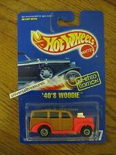 Hot Wheels Limited Edition '40's Woodie Early Times 94 Hot Rods To Hemet MOC