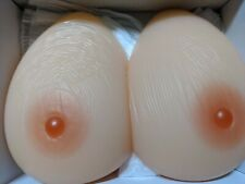 D Cup Silicone Breast Forms Crossdresser Fake Boobs Transgender Chest Enhancers